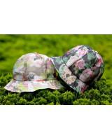玫瑰花太陽帽