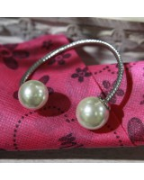 珍珠手鈪-銀色