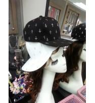 十字花cap帽