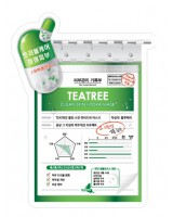 BLUMEI Tea Tree Clean Skin Hydra Mask 茶樹控油保濕面膜(1片$12/1盒$98)