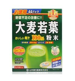 山本漢方 大麥若葉100%青汁粉