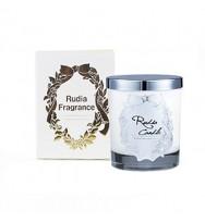 Rudia Fragrance Soy Candle White Amber & Hibiscus  - 手工製香薫蠟燭-琥珀花&木槿花