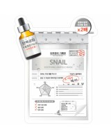 BLUMEI Snail Soothing Ampule Mask 蝸牛抗敏面膜 (1片$12/1盒$98)