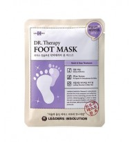LEADERS Insolution Dr Therapy Foot Mask 嫩白保濕去角質足膜