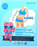 MILATTE Fashiony Nice Body Solution (Cool Patch) 溶脂瘦身貼-凍