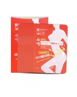 Freeset Soo Ae PPC Abdominal Fat Hot&Slim Sheet Pack 收腰減肥貼(溶脂貼)