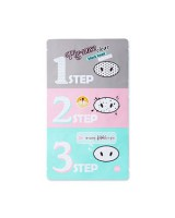 Holika Holika Pig Nose Clear Black Head 3-Step Kit 潔淨黑頭豬鼻貼3部曲